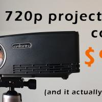 Aun C80 (Erisan C80) 720p Projector Review
