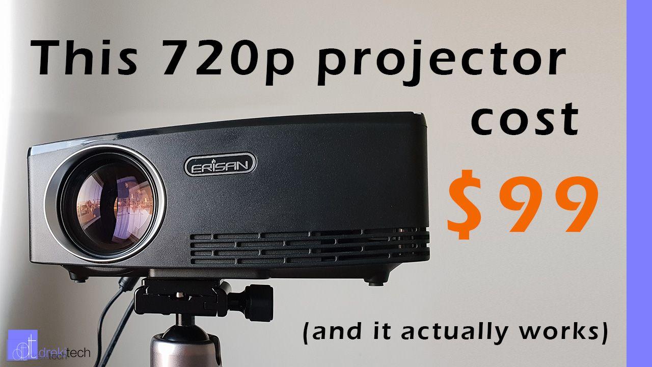 Aun C80 Projector